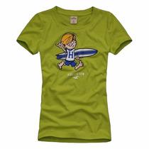 Camiseta Feminina Hollister - 100% Original - Tam: M - P6