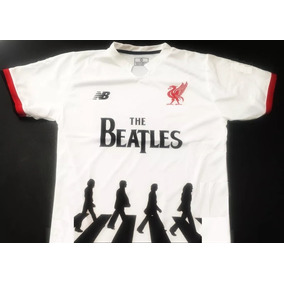 Camiseta De Liverpool The Beatles Homenaje Abbey Road 2018