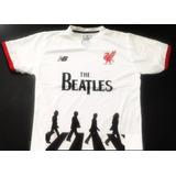 Camiseta De Liverpool The Beatles Homenaje Abbey Road 2018