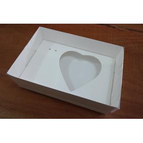 Caixas Para Coração De Colher - 200g -10 Unidades