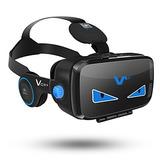 Gafas De Realidad Virtual Con Apoyo De Audifonos