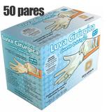 Luva Esteril Cirurgica - Com Po Kit 50 Pares) Descarpack
