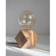 Promo Lampara Velador Geo X2