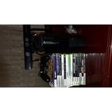 Xbox 360 E 4 Gb Usado+kinect+15 Juegos Físicos Originales