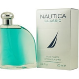 Agua De Colonia Nautica Con Rociador Para Hombre 3.4 Oz