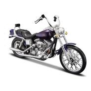 Harley-davidson 2001 Fxdwg Dyna Wide Glide 1 18 S34 Maisto