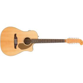 Fender Villager Sce V2 12 Cuerdas Guitarra Electro Acustica