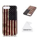Estuche Iphone 7 Plus Estados Unidos América Eeuu Bandera Im