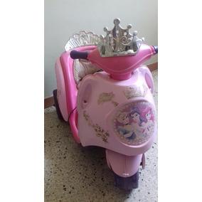 Moto Eletrica Para Niñas De Princesas