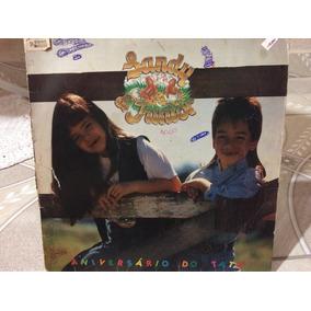Disco Sandy E Junior (aniversário Do Tatu)
