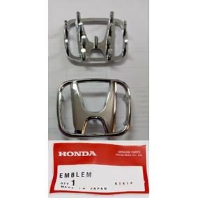 Emblema Honda Civic Fit City Volante Original Alto Brilho