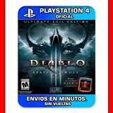 Diablo 3 Ps4 Reaper Of Souls Oferta Unica |2|