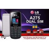 Lg A275 Dual Sim El Mejor Radio Fm Directo Linterna Led 3led