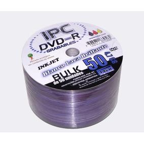 Dvd+r Ipc Imprimible 4.7gb Blanco Laca Brillante X Unidad