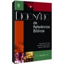 Dicionário De Referências Bíblicas Livro Cpad