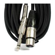 Cable De Audio Para Microfonos Cannon Plug