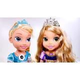 Muñecas Rapunzel, Elsa Y Ana De Frozen Aurora 36 Cm Musical