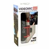Microfone Direcional Rode Videomic Go Prof Para Dslr P Entre
