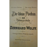 Partitura Piano-der Kleine Pischna B. Wolff