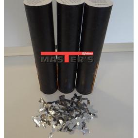 Kit 10 Lança Papel Picado Gliter Canhão Para Shows E Eventos