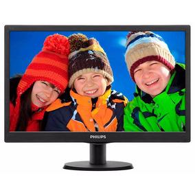 Philips Monitor Pc 19 Hd 193v5lsb2 Garantia Oficial 74-117