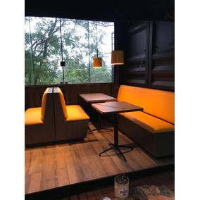 Sof booth para restaurantes casa m veis e decora o no for Modelos de mesas para cafeteria