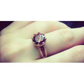 Anéis De Noivado De Zircônia De Luxo