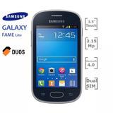 Samsung Galaxy Fame Lite, Dual,nuevo,3g, 3.5p, 3.15mp, Wi-fi