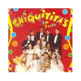 Cd Chiquititas - Em Festa