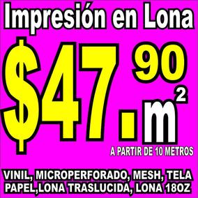 Maquila Impresión Lona Vinil Campaña Publicidad Negocio