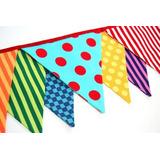 Banderines De Tela! Decoracion De Eventos Fabrica Directo!!