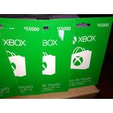 Tarjeta Xbox De 25 Dolares