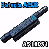 Bateria Notebook Acer A510d51