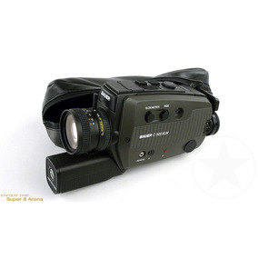Filmadora Cámara Bauer C 500 Xlm - Super 8 Arena.