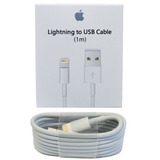 Cable Lightning Apple 100% Original 1 Metro (no Es Copia)