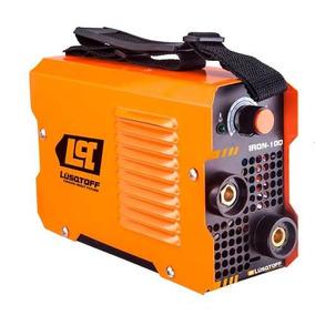 Combo Soldadora Inverter Lusqtoff Iron100 + Electrodos X 1k