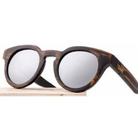 f5c2b538f3ead Espelho Redondo Madeira Escura - Óculos De Sol no Mercado Livre Brasil
