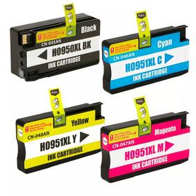 4 Cartucho Hp 950xl 951xl Impressora Officejet Pro 8600 Plus