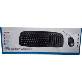 Teclado Multimedia + Mouse Optico Magnum Usb Lomas Envios
