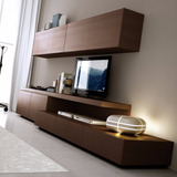 Rack Modular Led Mesa Tv Lcd Mueble Living Comedor Promo 10%
