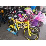 Bicicletas Aro 12,16,20,26