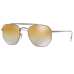 9ea2935f6a286 Rayban  Ray Ban Modelo 3020 Dourado Lente Verde G15 - Óculos no ...