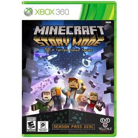 Minecraft: Story Mode - Xbox 360 - Midica Fisica - Lacrado