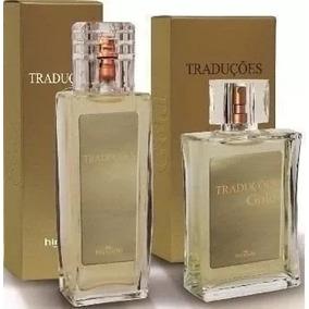 Kit 2 Perfumes Traduções Gold Hinod 100ml Fragrâncias Origi.