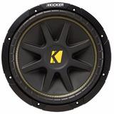 Subwoofer Kicker Comp12 600w Bobina Sencilla P Amplificador
