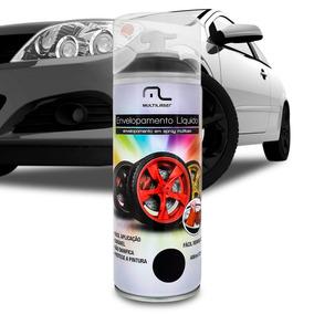 Spray Envelopamento Líquido 400ml Preto Fosco Multilaser