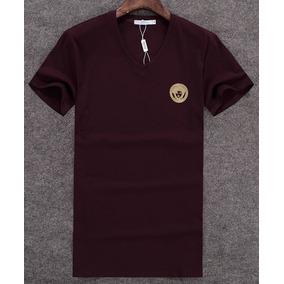 Camiseta Versace Gucci Burberry Original Fotos Reais