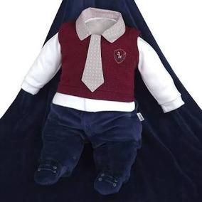 Saída Maternidade Sonho Magico Kit Brasão 3 Peças