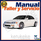Manual De Taller Y Reparacion Honda Accord 1994-1997 Ingles