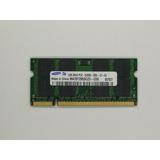 Memoria Ram Sodimm 1gb Ddr2 667mhz / Pc2-5300 Samsung
